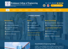 brindavancollegeofengineering.com
