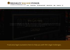 brinkleywalserstoner.com