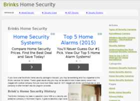 Brinks home security affiliate program websites and posts for Home affiliate programs