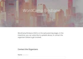 Brisbane.wordcamp.org