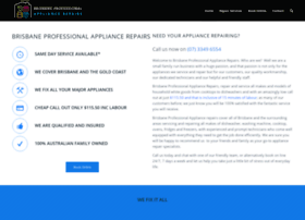 brisbaneprofessionalappliancerepairs.com.au