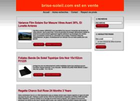 brise-soleil.com