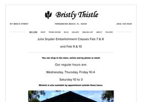 bristlythistle.com