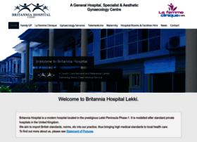 britanniahospital.com