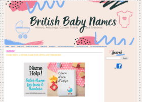 britishbabynames.com