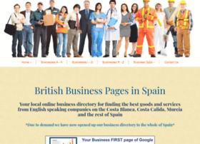 britishbusinesspagesinspain.es