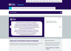britishcouncil.org.mm