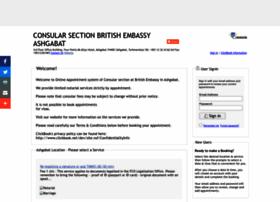 britishembassyashg.clickbook.net