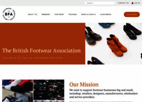 britishfootwearassociation.co.uk