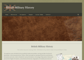 britishmilitaryhistory.co.uk