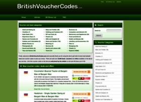 britishvouchercodes.com