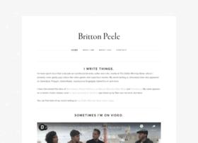 brittonpeele.com