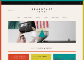 broadcastcoffee.com