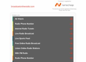 broadcastonlineradio.com