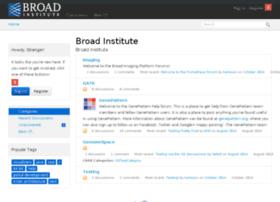 broadinstitute.vanillaforums.com