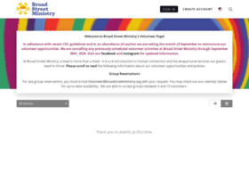 broadstreetministry.volunteerhub.com