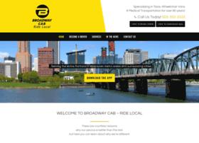 broadwaycab.com