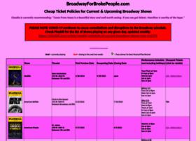 broadwayforbrokepeople.com