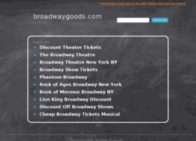 broadwaygoods.com