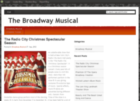 broadwaymusical.blog.com
