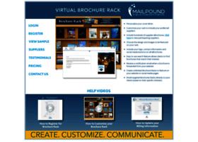 brochurerack.mailpound.com