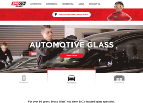 brocoautoglass.com