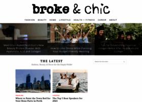 brokeandchic.com