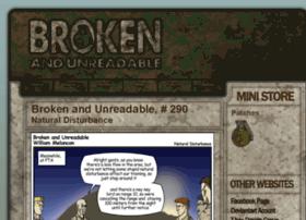 brokenandunreadable.com