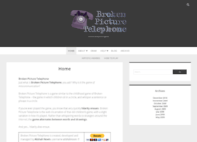 brokenpicturetelephone.com