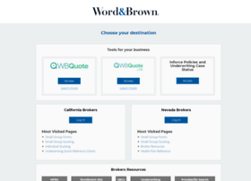 brokeraccess.wordandbrown.com