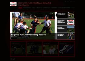 broncosflagfootball.com