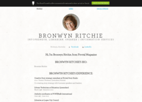 bronwynritchie.brandyourself.com