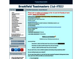 brookfieldtm.toastmastersclubs.org