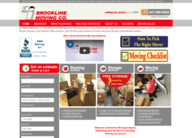 brooklinemoving.com