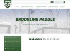 brooklinepaddle.com