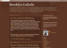 brooklyncatholic.blogspot.com