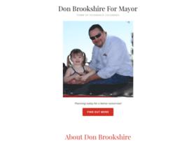 brookshireformayor.com