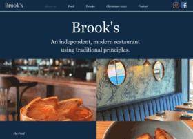 brooksrestaurant.co.uk