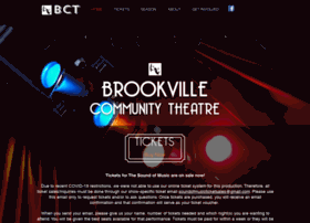 brookvillecommunitytheatre.com
