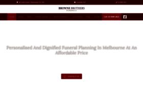 brownebrothersfunerals.com.au