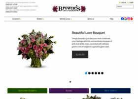 brownesflowers.com