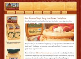 brownfamilyfarmmaple.com