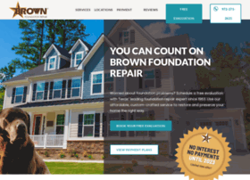 brownfoundationrepair.com