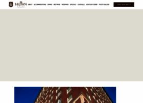 brownhotel.com