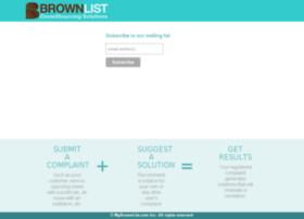 brownlist.com
