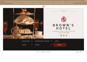 brownshotel.com
