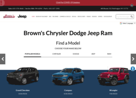brownsjeepchryslerdodge.com