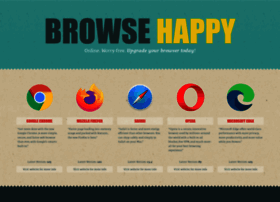 browsehappy.com
