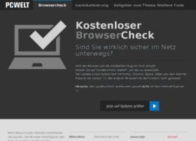 browsercheck.pcwelt.de