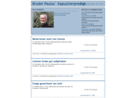 bruderpaulus.podspot.de